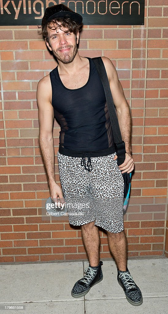 Perez Hilton attends Style Network's 'Style To Rock' Event at Skylight Modern on September 5 2013 in New York City