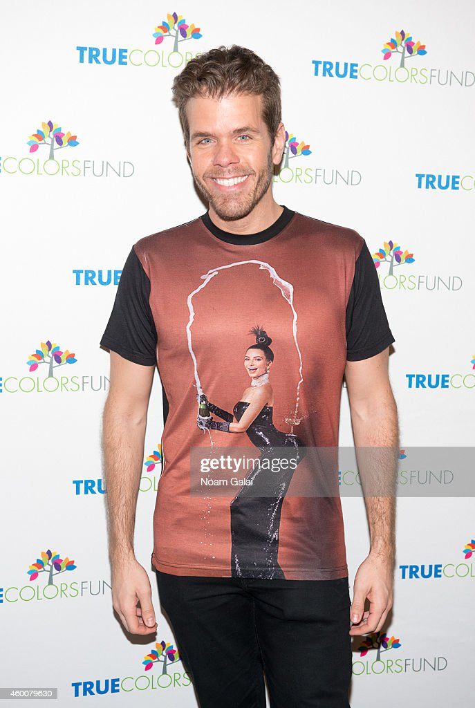 Perez Hilton attends the 4th Annual 'Home For The Holidays' Benefit Concert at Beacon Theatre on December 6 2014 in New York City