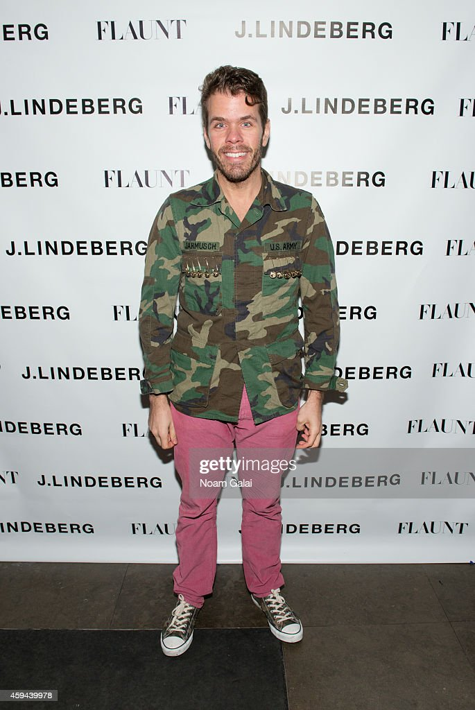 Perez Hilton attends the Celebration of Chris Pine's cover of Flaunt Magazine at Beautique on November 22, 2014 in New York City.