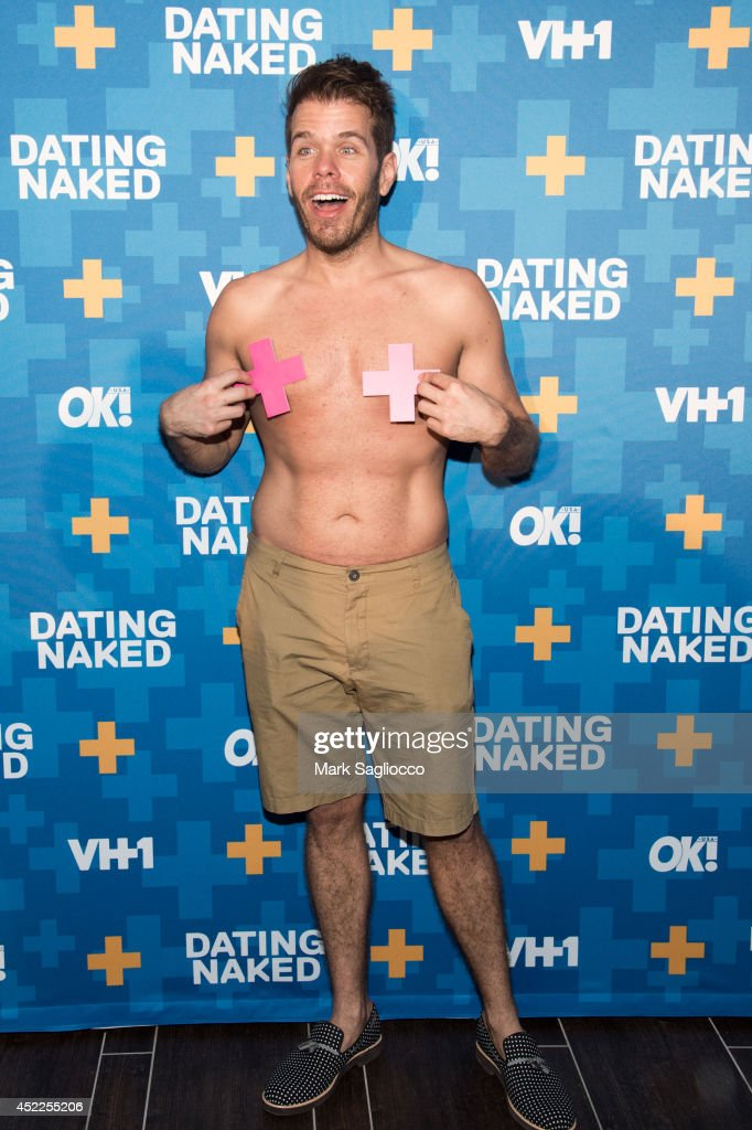 Perez Hilton attends the 'Dated Naked' series premiere at the Gansevoort Park Avenue Hotel on July 16 2014 in New York City