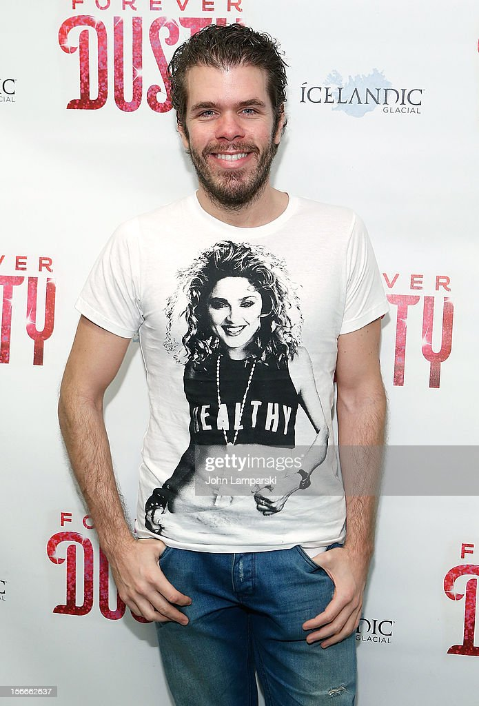 Perez Hilton attends the 'Forever Dusty' Opening Night at New World Stages on November 18, 2012 in New York City.