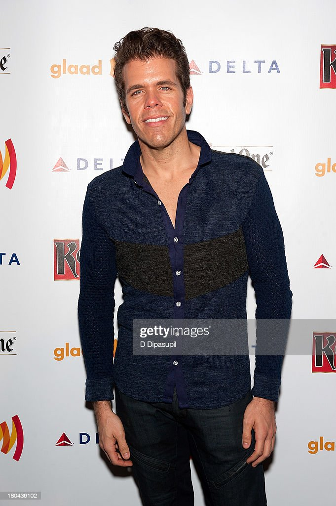 <a gi-track='captionPersonalityLinkClicked' href=/galleries/search?phrase=Perez+Hilton&family=editorial&specificpeople=598309 ng-click='$event.stopPropagation()'>Perez Hilton</a> attends the GLAAD Manhattan Summer 2013 Benefit at Gansevoort Park Avenue on September 12, 2013 in New York City.