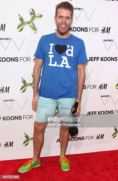 Perez Hilton attends the HM Flagship Fifth Avenue Store launch event at HM Flagship Fifth Avenue Store on July 15 2014 in New York City