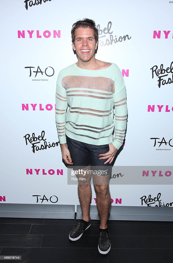 Perez Hilton attends the NYLON Rebel Fashion Party at TAO Downtown on September 8 2014 in New York City