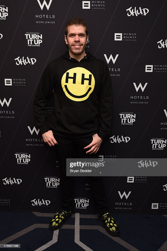 Perez Hilton attends W Hotels HRC and Andy Cohen at TURN IT UP FOR CHANGE panel discussion and screening of Jennifer Hudson's 'I Still Love You'...