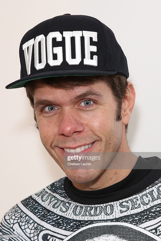<a gi-track='captionPersonalityLinkClicked' href=/galleries/search?phrase=Perez+Hilton&family=editorial&specificpeople=598309 ng-click='$event.stopPropagation()'>Perez Hilton</a> backstage at the The Blonds fashion show during MADE Fashion Week Fall 2014 at Milk Studios on February 12, 2014 in New York City.