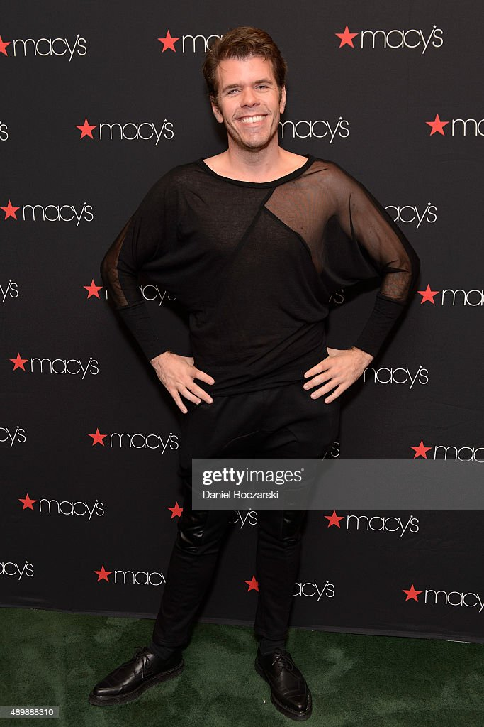 Perez Hilton hosts Macy's Presents Fashion's Front Row at Macy's State Street on September 24 2015 in Chicago Illinois