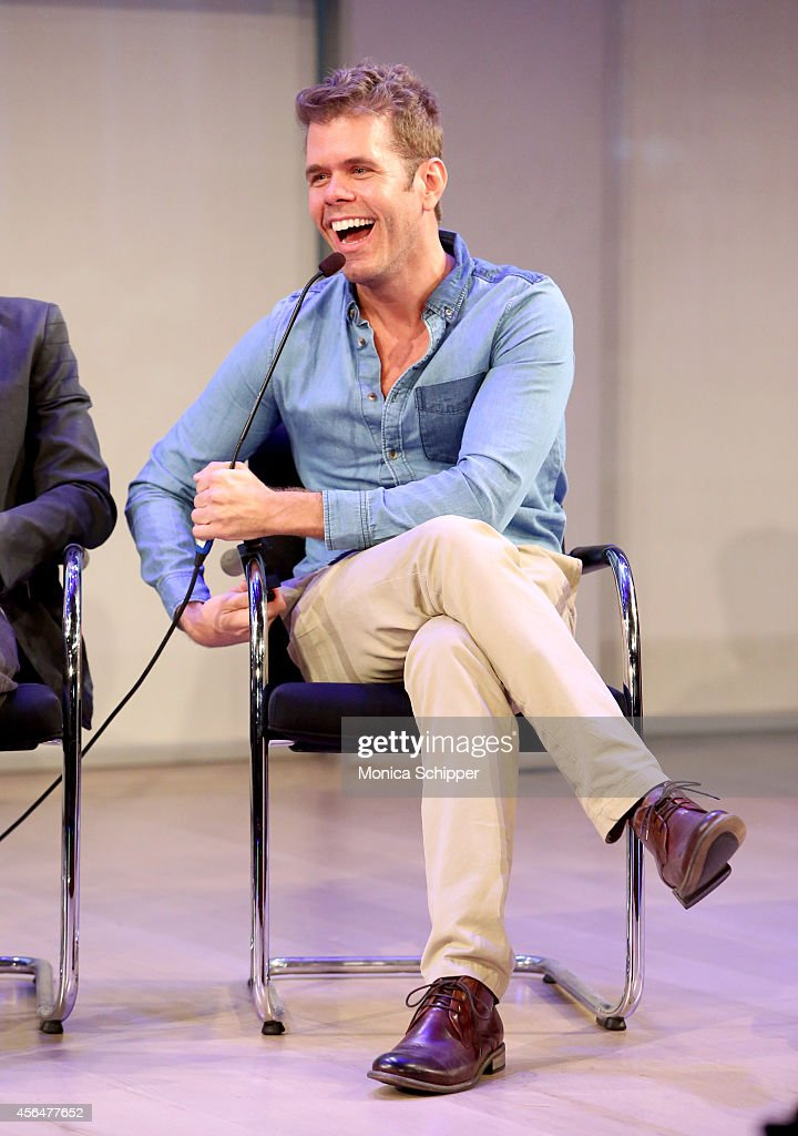 Perez Hilton speaks onstage during the Living in a Short Form World panel during AWXI on October 1 2014 in New York City