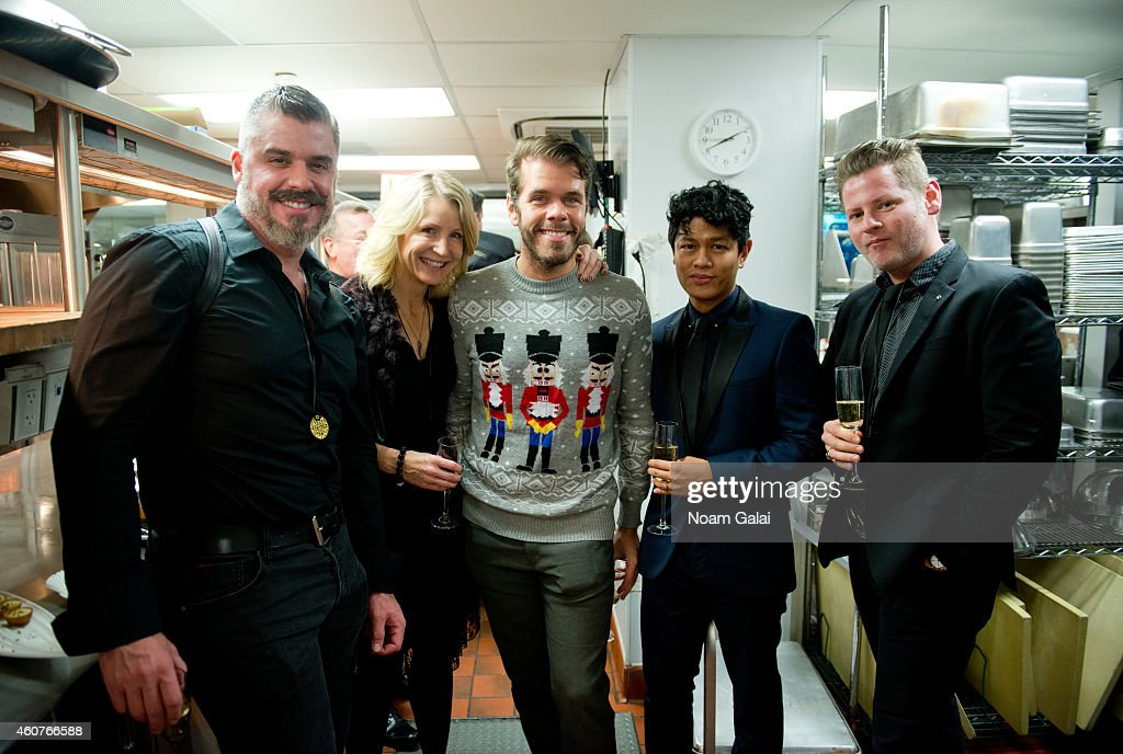 Perez Hilton visits Queen Of The Night In NYC on December 19 2014 in New York City