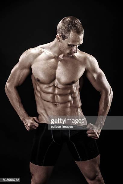 Perfekte Bauchmuskeln