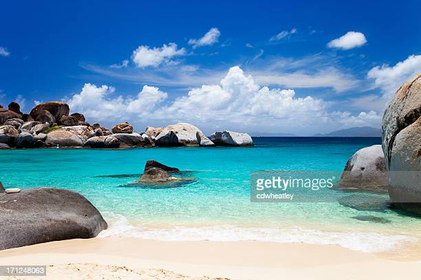 perfect beach at Devil's Bay, Virgin Gorda