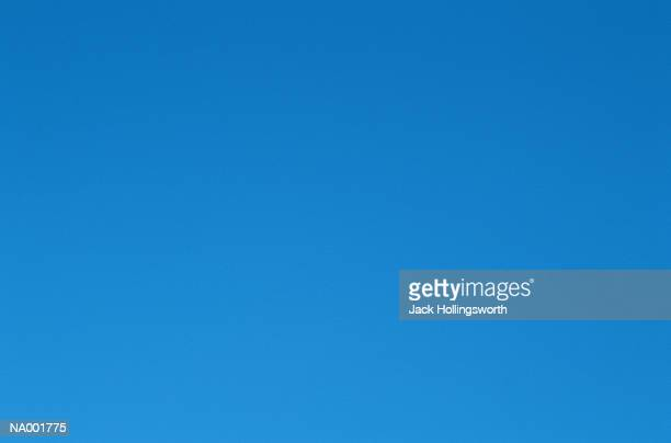 Perfect Blue Sky Background