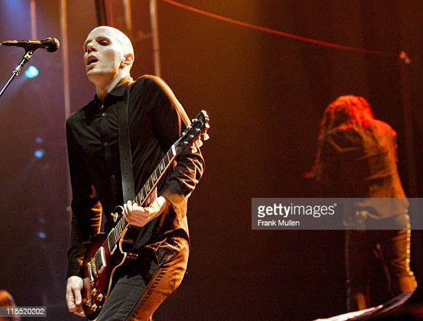 A Perfect Circle during Voodoo Music Experience 2003 Day Three at City Park in New Orleans Louisiana United States