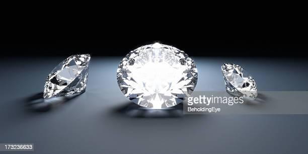 Perfect Diamonds in the Light