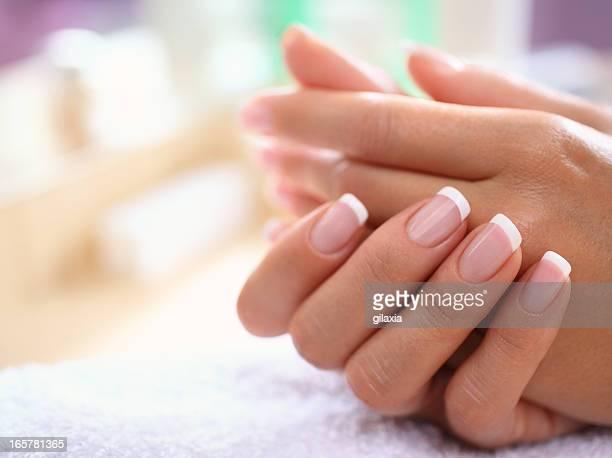Perfeito as Unhas das Mãos.