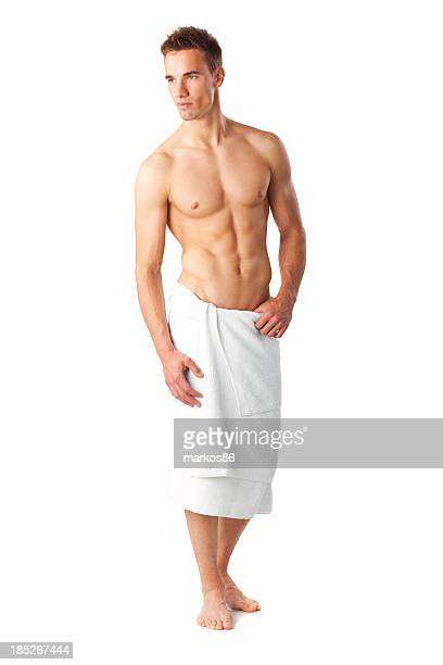 Perfect male in towel