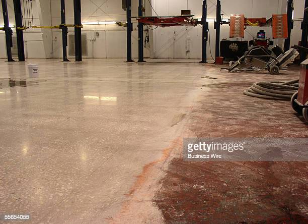Perfect Polish Inc's dramatic results shine through on a recently polished facility concrete floor when compared to the previous floor consisting of...