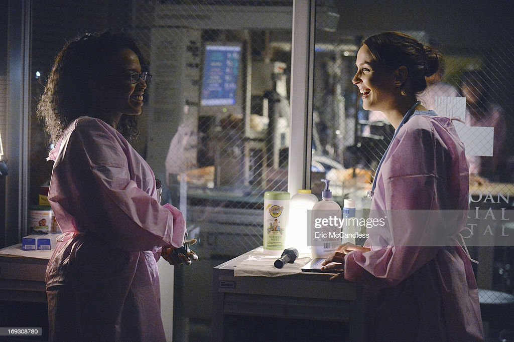 S ANATOMY - 'Perfect Storm' - Grey Sloan Memorial Hospital enters crisis mode as the storm rages, resources become scarce and patients flood in by the busload. Meanwhile, one of the doctors fights for their life, on the Season Finale of 'Grey's Anatomy,' THURSDAY, MAY 16 (9:00-10:02 p.m., ET) on the ABC Television Network. JERRIKA