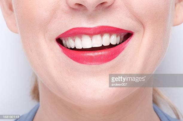 Un Sourire à pleines dents gros plan