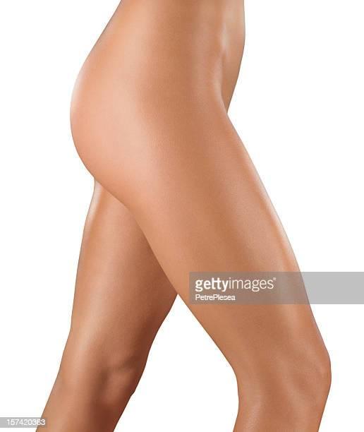 Mulher pernas e cintura perfeita