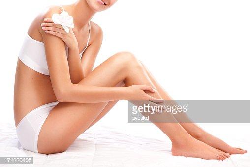 Weibliche Körper perfekt geformt