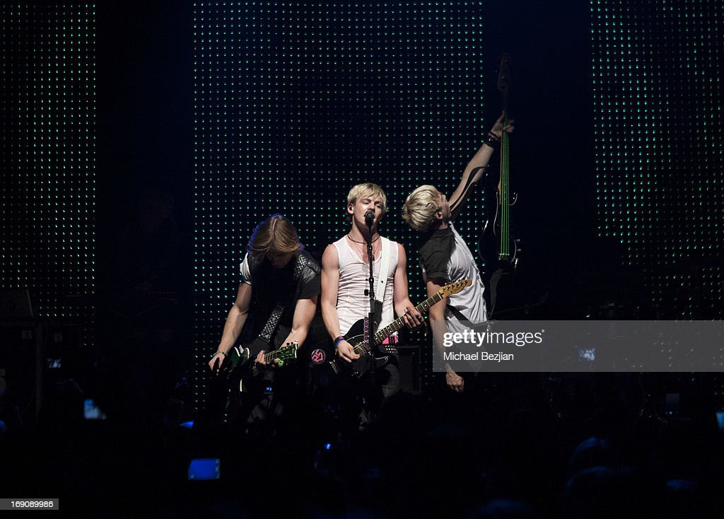 R5 perform at House of Blues Sunset Strip on May 19, 2013 in West Hollywood, California.