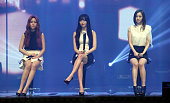 DALSHABET perform onstage during their 7th mini ablum 'BBB' showcase at Dom Art Hall on January 8 2014 in Seoul South Korea