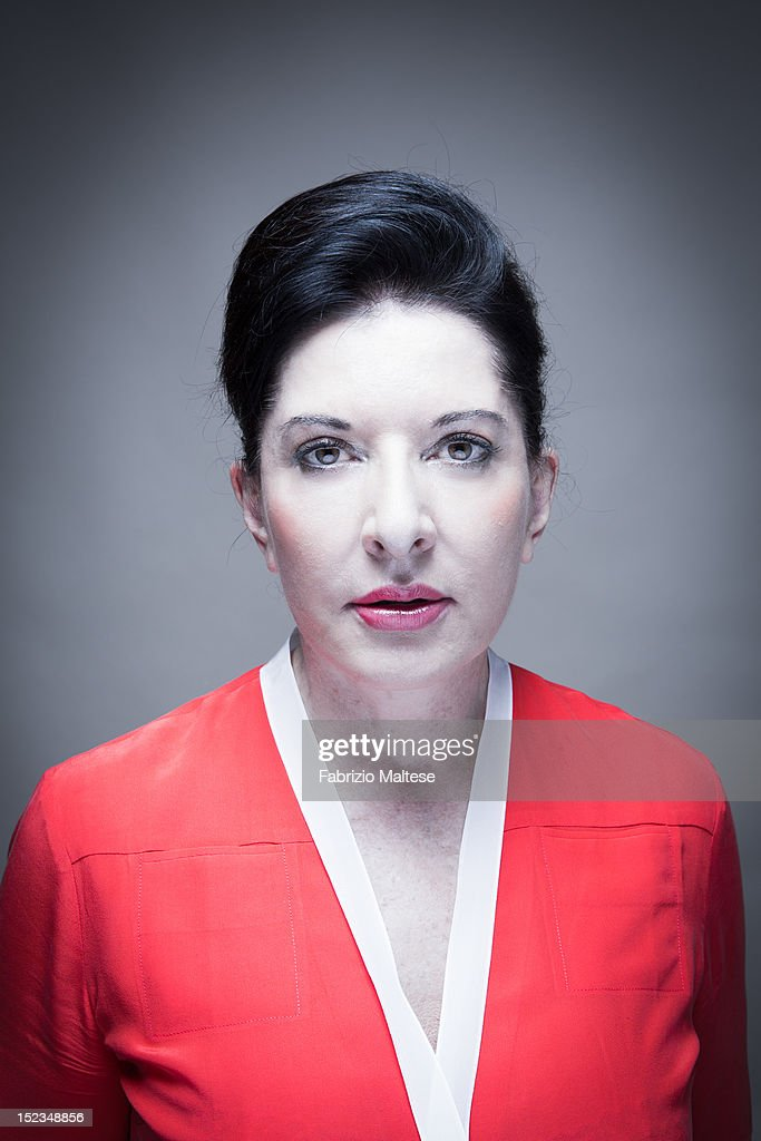 Marina abramovic self assignment september 2012 getty for Marina performance