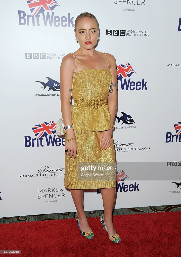 Performance artist <a gi-track='captionPersonalityLinkClicked' href=/galleries/search?phrase=Millie+Brown+-+Artista&family=editorial&specificpeople=15442698 ng-click='$event.stopPropagation()'>Millie Brown</a> attends BritWeek's 10th Anniversary VIP Reception & Gala at Fairmont Hotel on May 1, 2016 in Los Angeles, California.