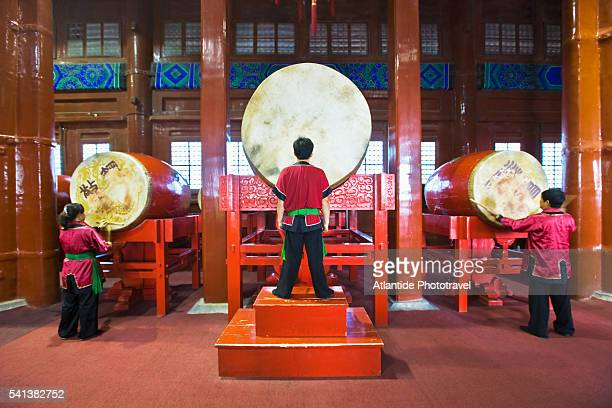 Performance at Beijing Drum Tower