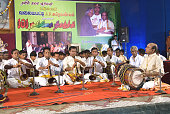Performance by hundred and one thavil vidwans, Coimbatore, Tamil Nadu, India
