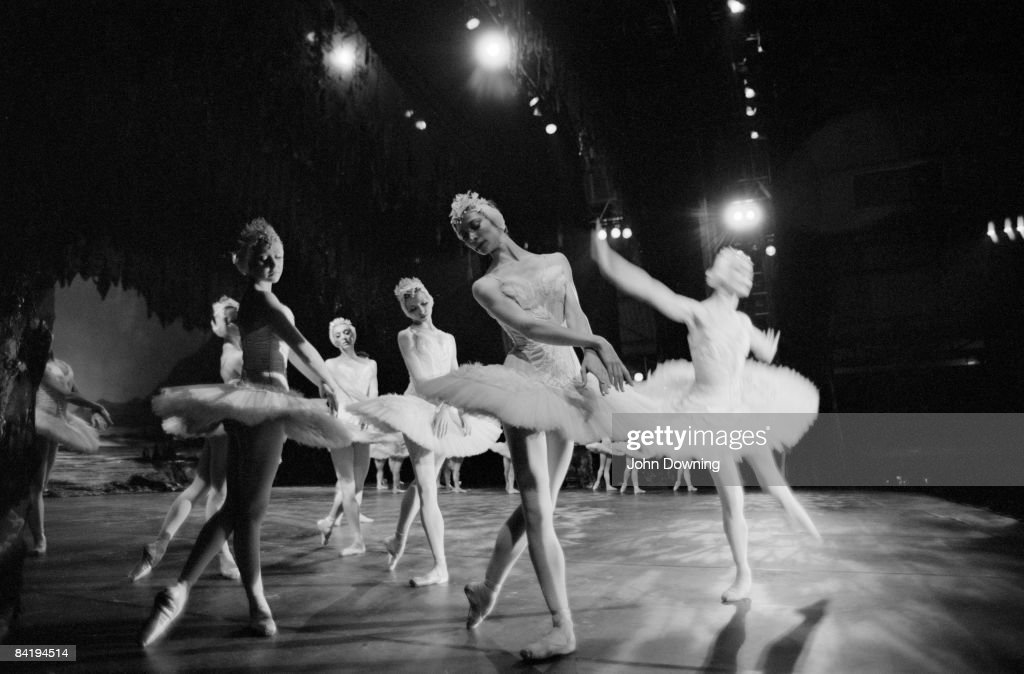 A performance by the Moscow Ballet, 17th August 1988.