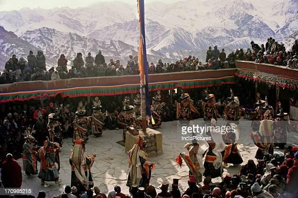 Performance Leh Jammu and Kashmir India