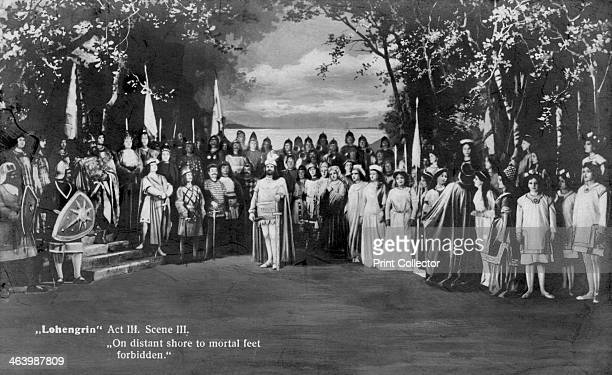 Performance of Richard Wagner's opera Lohengrin 1907 On distant shore to mortal feet forbidden Wagner wrote Lohengrin in 1848 It received its first...