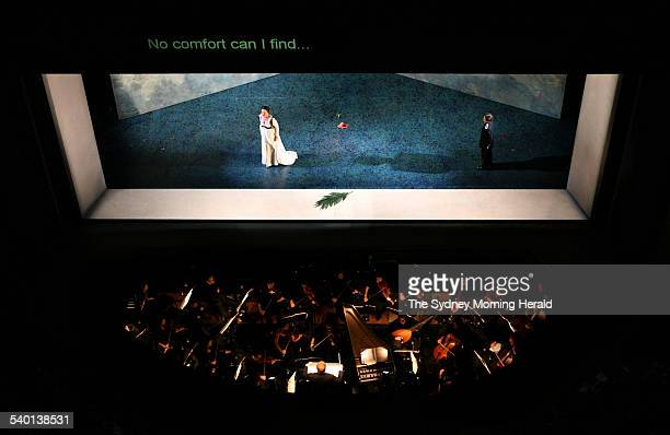 A performance of the opera Caesar at the Sydney Opera House 6 November 2006 SMH Picture by STEVEN SIEWERT