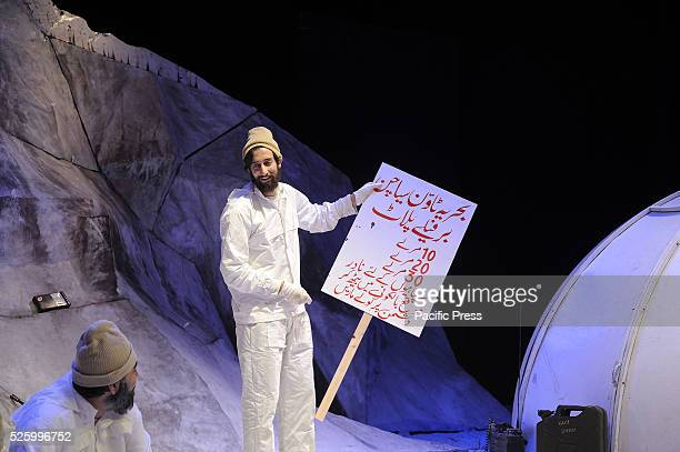 A performance of the Siachen play This play is to pay tribute to the Pakistani soldiers who have been positioned on a glacier which is one of the...