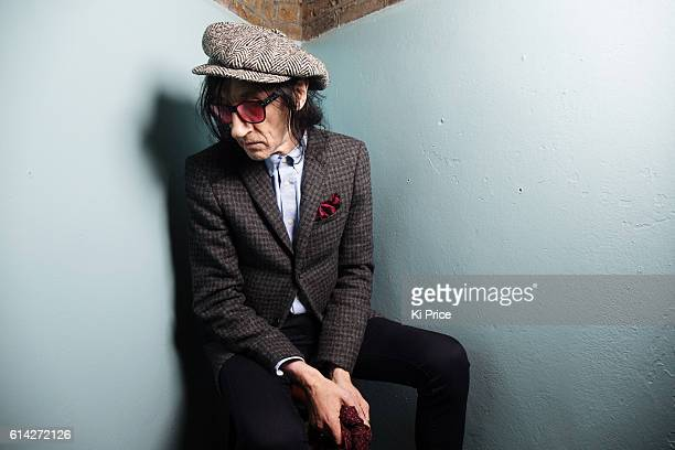 Performance poet John Cooper Clarke is photographed on October 16 2014 in London England