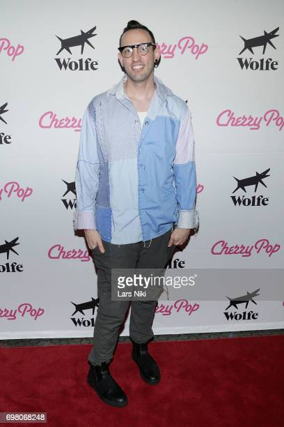 Performer Acid Betty attends the Cherry Pop Premiere at OutCinema Presented by NewFest and NYC Pride at SVA Theater on June 19 2017 in New York City