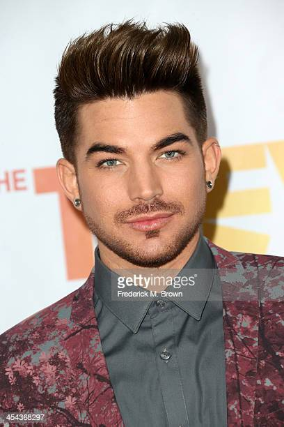 Performer Adam Lambert attends 'TrevorLIVE LA' honoring Jane Lynch and Toyota for the Trevor Project at Hollywood Palladium on December 8 2013 in...