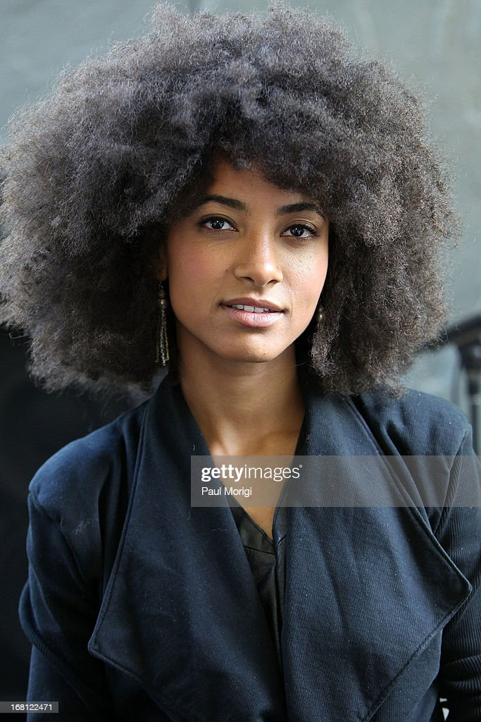 Performer and 3-time GRAMMY Award winner Esperanza Spalding poses for a photo at the GRAMMY Foundation - Debra Lee house concert with Esperanza Spalding at Private Residence on May 5, 2013 in Washington, DC.