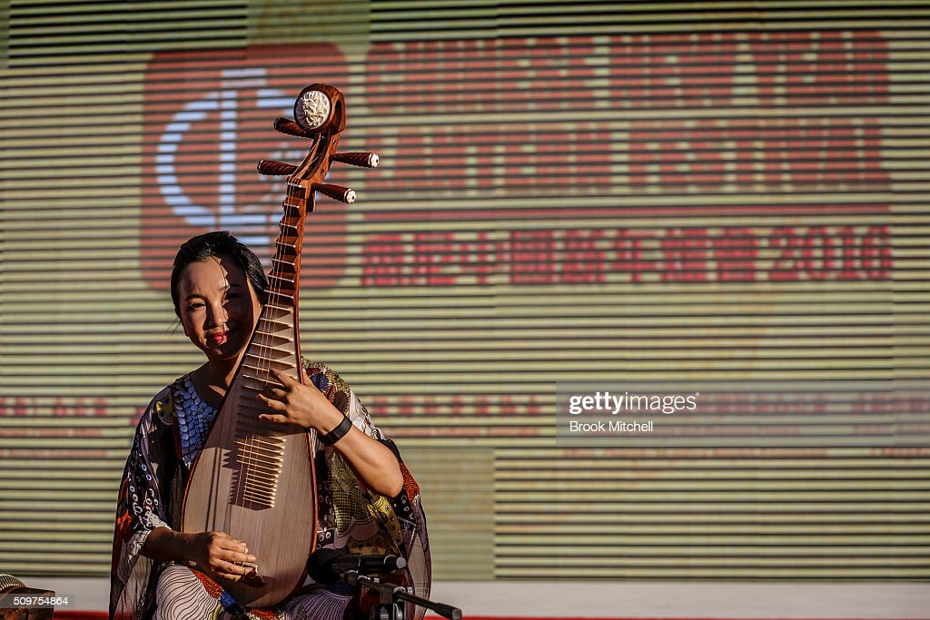 A performer at the Chinese New Year Lantern Festival at Tumbalong Park on February 12, 2016 in Sydney, Australia. The lighting of lanterns is a centuries old tradition that marks the end of the Chinese New Year Festival.