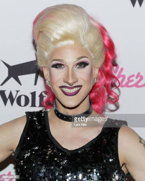 Performer Chelsea Piers attends the Cherry Pop Premiere at OutCinema Presented by NewFest and NYC Pride at SVA Theater on June 19 2017 in New York...