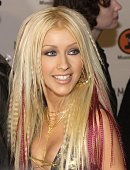 Performer Christina Aguilera arrives at the 'My VH1 Music Awards' November 30 2000 at the Shrine Auditorium in Los Angeles CA