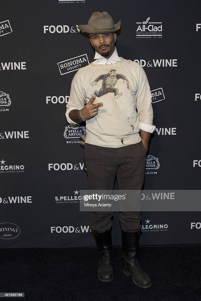 Performer Giovanni James attends the 2014 FOOD & WINE Best New Chefs Party at Powerhouse at The American Museum of Natural History on April 1, 2014 in New York City.