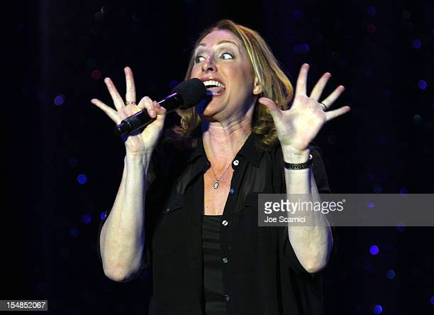 Performer Judy Gold performs onstag at the International Myeloma Foundation's 6th Annual Comedy Celebration hosted by Ray Romano benefiting The Peter...