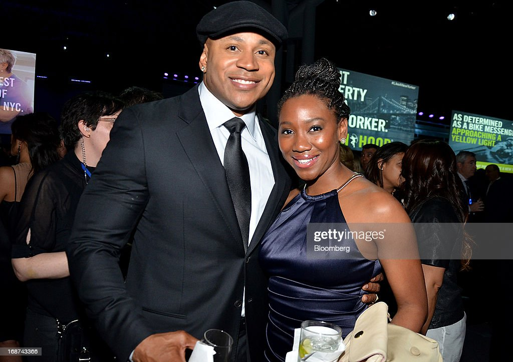 Performer <a gi-track='captionPersonalityLinkClicked' href=/galleries/search?phrase=LL+Cool+J&family=editorial&specificpeople=201567 ng-click='$event.stopPropagation()'>LL Cool J</a> and Selena Swaby attend the Robin Hood Foundation Gala in New York, U.S., on Monday, May 13, 2013. The annual event raises money for the Robin Hood Foundation, which funds and partners with programs to alleviate poverty in the lives of New Yorkers. Photographer: Amanda Gordon/Bloomberg via Getty Images