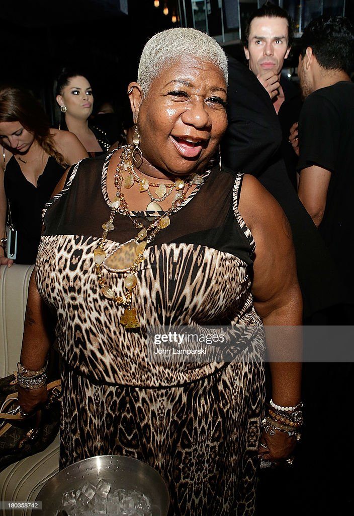 Performer <a gi-track='captionPersonalityLinkClicked' href=/galleries/search?phrase=Luenell&family=editorial&specificpeople=2159262 ng-click='$event.stopPropagation()'>Luenell</a> attends The Blonds Mercedes-Benz Fashion Week Spring 2014 After Party>> at No. 8 on September 11, 2013 in New York City.