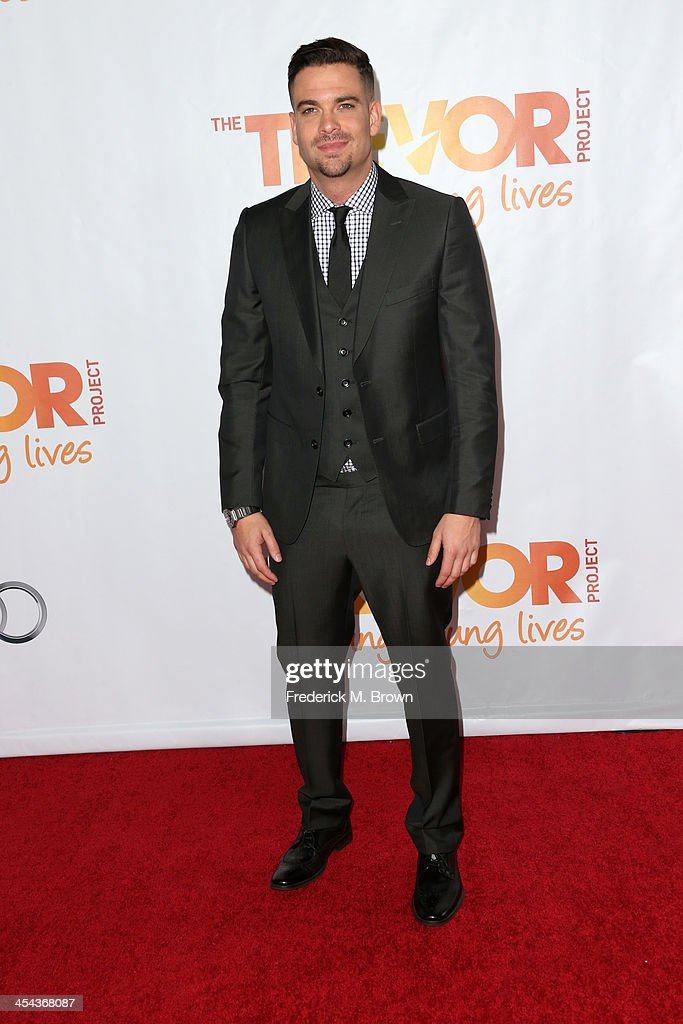 Performer Mark Salling attends 'TrevorLIVE LA' honoring Jane Lynch and Toyota for the Trevor Project at Hollywood Palladium on December 8, 2013 in Hollywood, California.