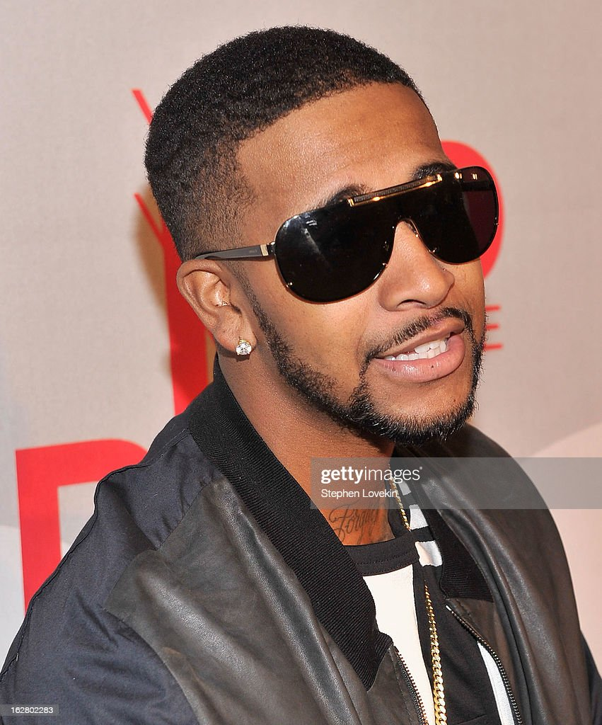 Performer Omarion attends BET's Rip The Runway 2013:Red Carpet at Hammerstein Ballroom on February 27, 2013 in New York City.