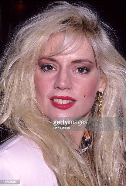 Performer Phoebe Legere attends the Second Annual Singular Sensations Awards to Benefit the National Glaucoma Trust on June 18 1991 at Maxim's...